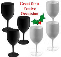 6 BLACK AND WHITE. wine. exmas