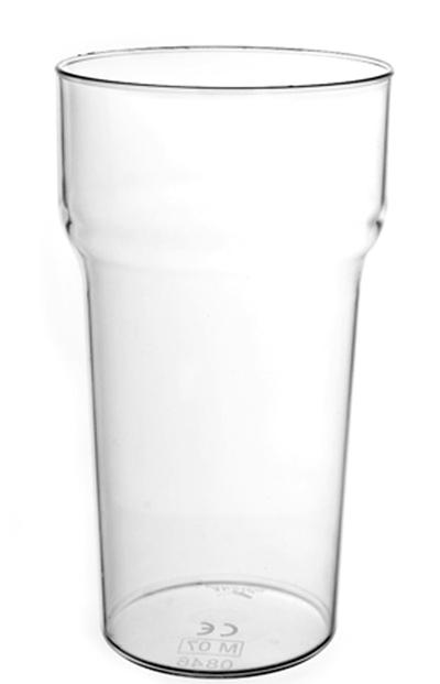 Unbreakable Polycarbonate Plastic 50cl Tulip Beer Glass Reusable Stackable